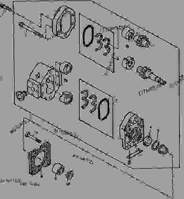John Deere Model Compact Utility Tractor Parts