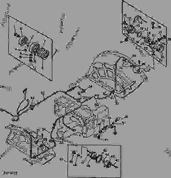 John Deere 1010 Power Steering Parts. John. Tractor Engine