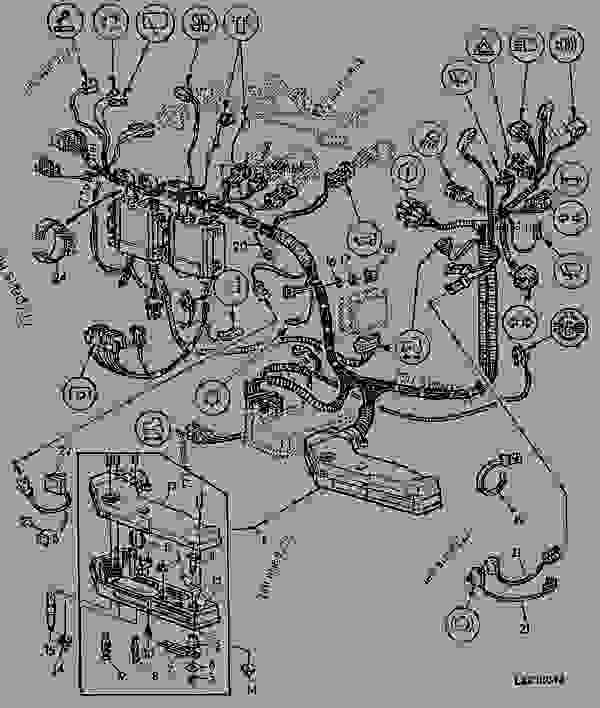 john deere lx172 wiring harness diagram