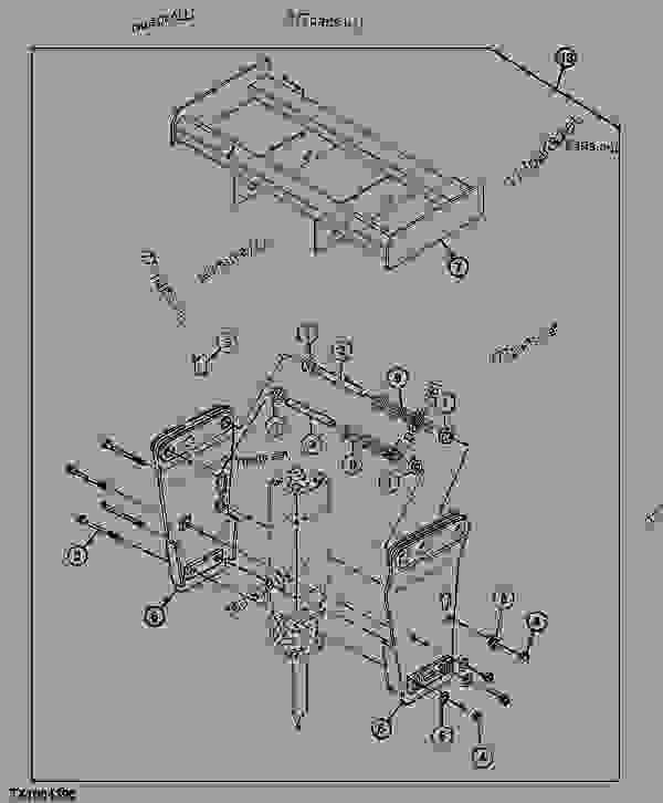 Bracket (Skid Steer) (HH30 SERIES II/HH50 SERIES II