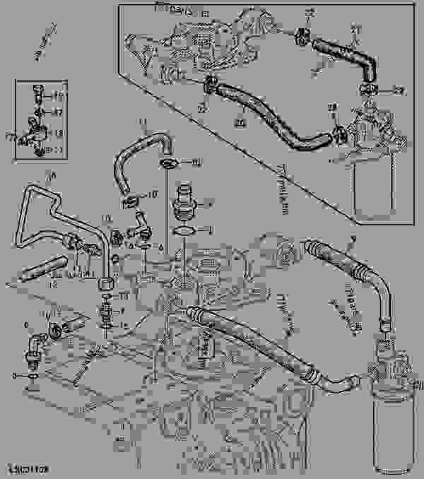 John Deere 310 Hydraulic Hose Diagram, John, Free Engine