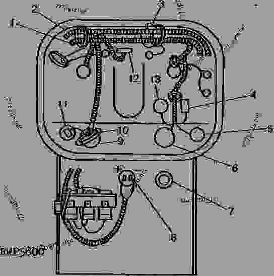 INSTRUMENT PANEL WIRING (INVESTIGATOR II MONITOR)(4050