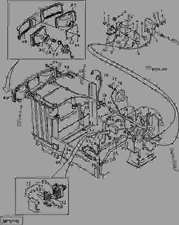 john deere 1070 wiring diagram