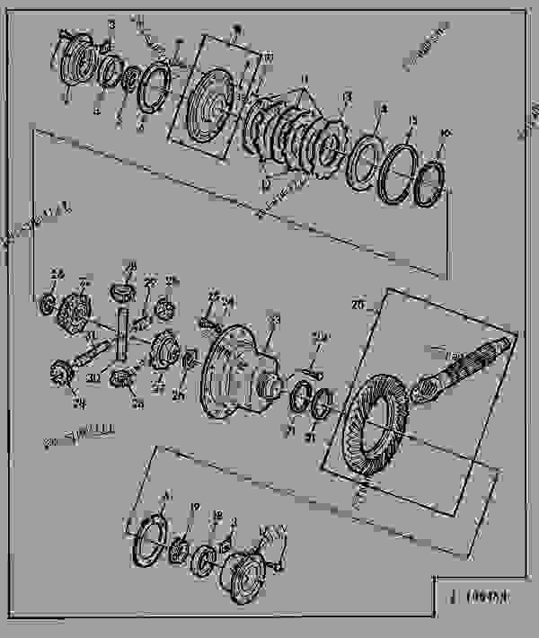 4 PLANETARY PINION DIFFERENTIAL(QUAD-RANGE) [02E12