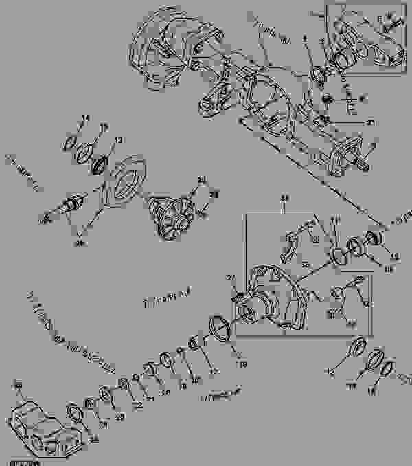 600 Ford Tractor Rear Axle Parts Diagram. Ford. Auto