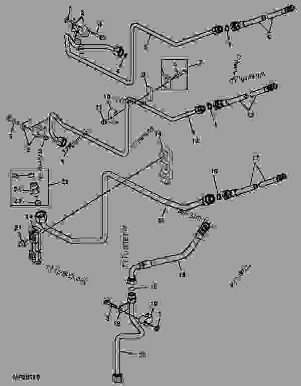 John Deere 4210 Wiring Diagram John Deere 310E Backhoe