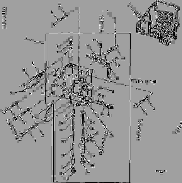 PTO Control Valve Housing (PowrShift™ Transmission