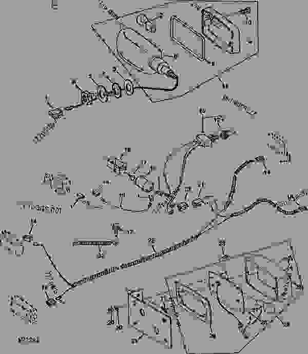 John Deere F620 Wiring Diagram John Deere F680 Wiring