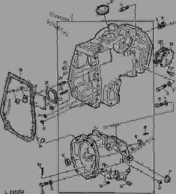 CLUTCH HOUSING (COLLAR SHIFT WITH REVERSER TRANSMISSION