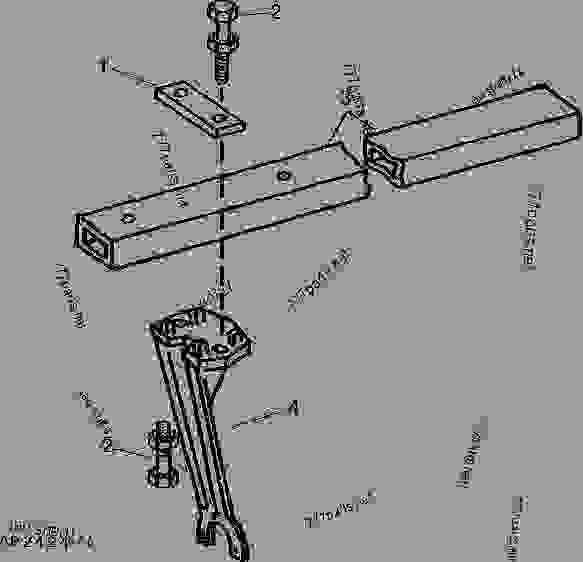 Gang Frame and Standard, Rear (For Drawn Disks) 185 MM (7