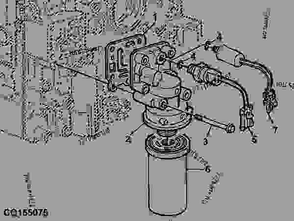 TRANSMISSION OIL FILTER (PowrQuad)™ PUMP HYDRAULIC 60LPM