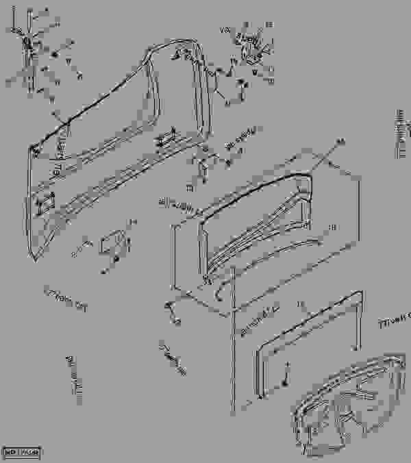 R.H. REAR DOOR (RADIATOR)(9660(715401- ),9760(715501