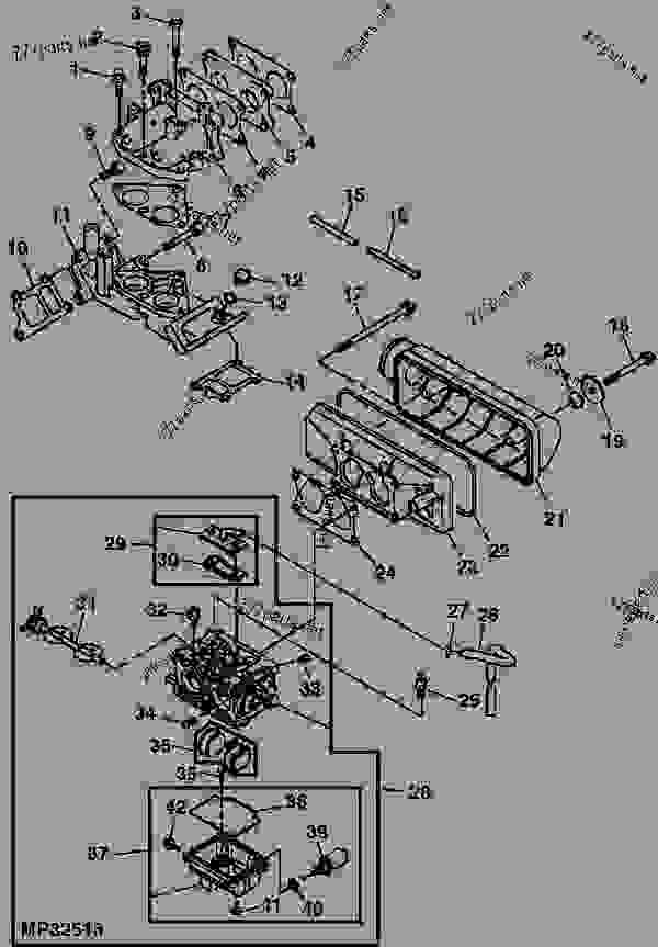 John Deere Gator Carburetor Diagram. John Deere. Wiring