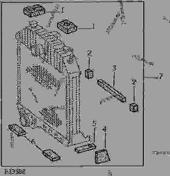 RADIATOR BAFFLES AND CUSHIONS KIT (6466TR) [01G24