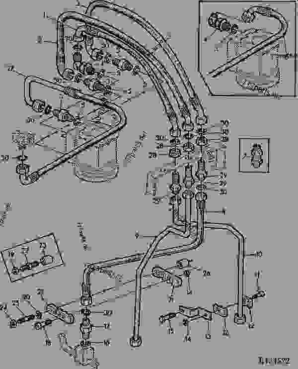 John Deere 2020 Ignition Wiring Diagram John Deere 1830