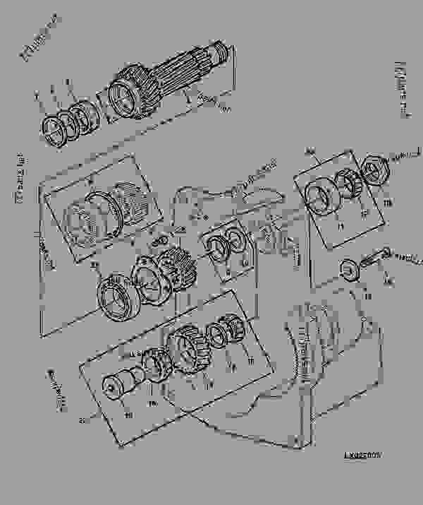 HOLLOW DRIVE SHAFT (SYNCHRONIZED TRANSMISSION) [58