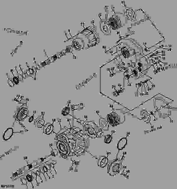Deere Z425 Mower Wiring Diagram John Z445 Z425 John Deere