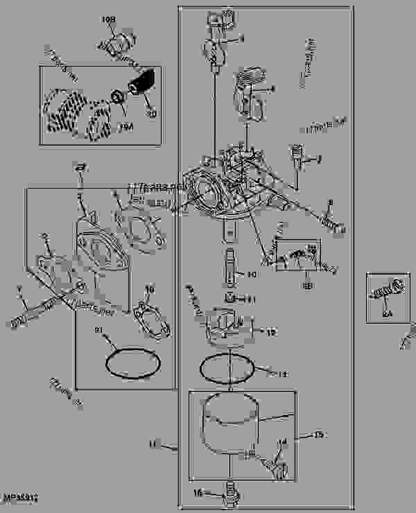 John Deere Gator 6x4 Parts Diagram : deere, gator, parts, diagram, CARBURETOR, (4X2), UTILITY, VEHICLE, Deere, Gators,, Diesel, Gator,, Trail, Worksite, Gator, 777parts