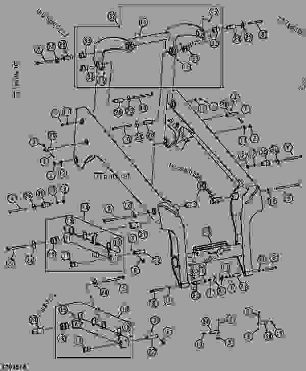 John Deere 70 Skid Loader Parts. John. Tractor Engine And