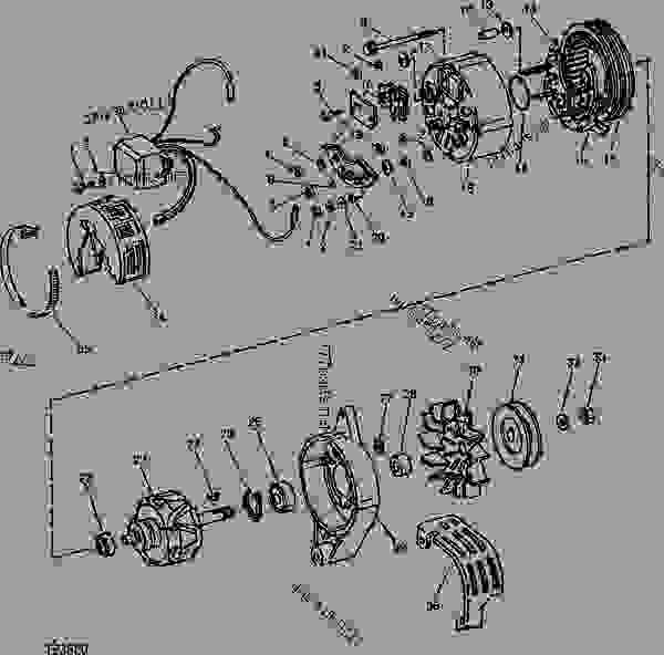 ALTERNATOR AND REGULATOR (MOTOROLA NO. RA12NJD604) [D03