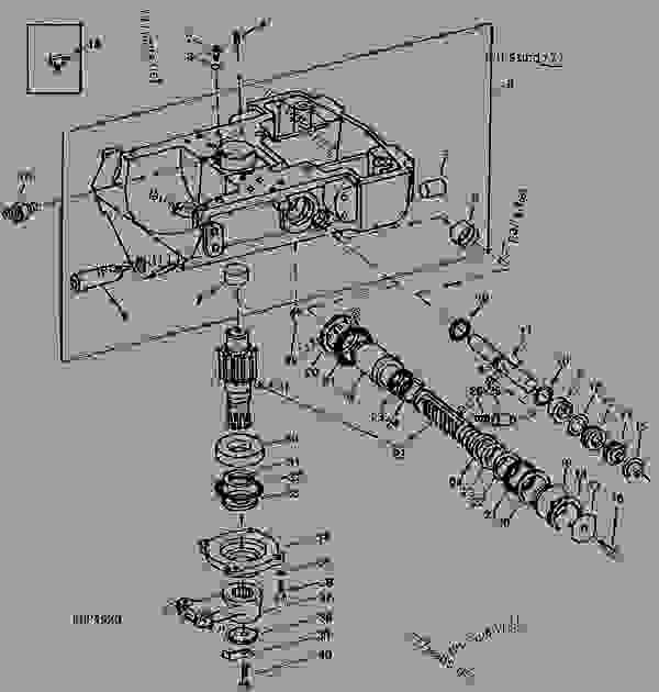 STEERING MOTOR (ADJUSTABLE FRONT AXLE) (TRACTOR SERIAL NO