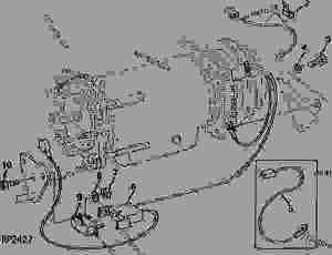 AIR COMPRESSOR WIRING HARNESS [05B08]  TRACTOR John Deere