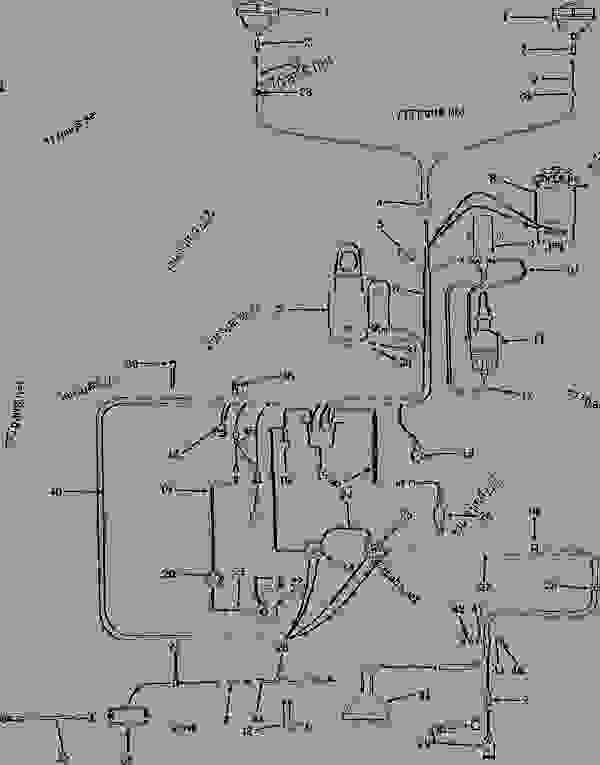 WIRING HARNESS AND ELECTRICAL SYSTEM (GASOLINE) (TRACTOR
