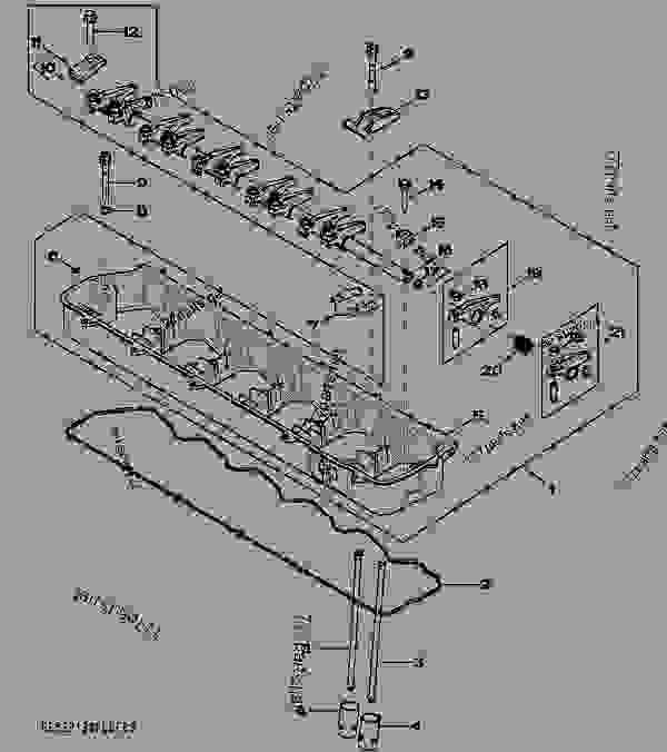 4905 ROCKER ARM / SHAFT / TAPPET / PUSH ROD [04J23