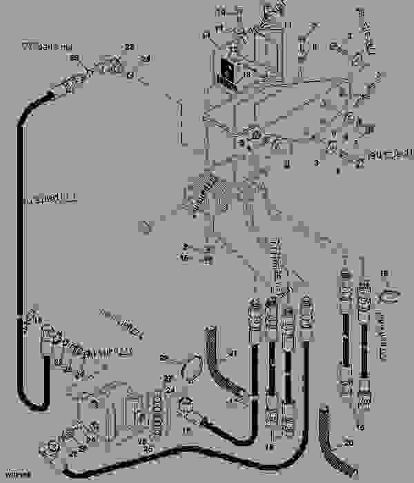 HEMA SINGLE LEVER CONTROL VALVE HYDRAULIC HOSES (5005,10