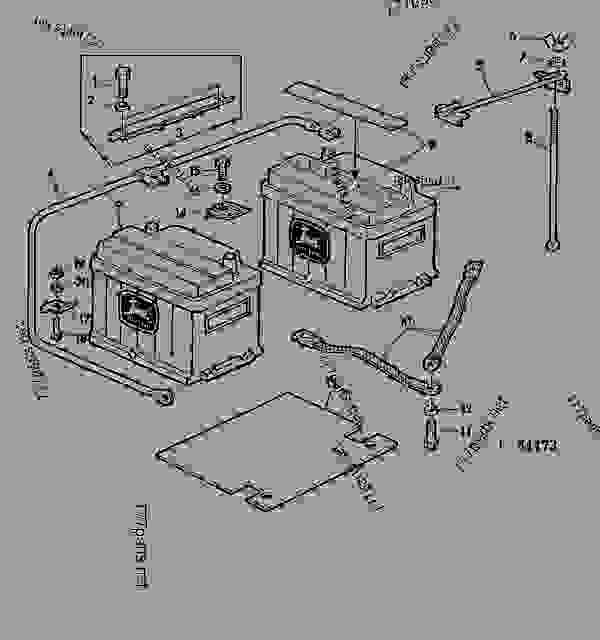 John Deere 2020 Wiring Harness Diagram John Deere 4010