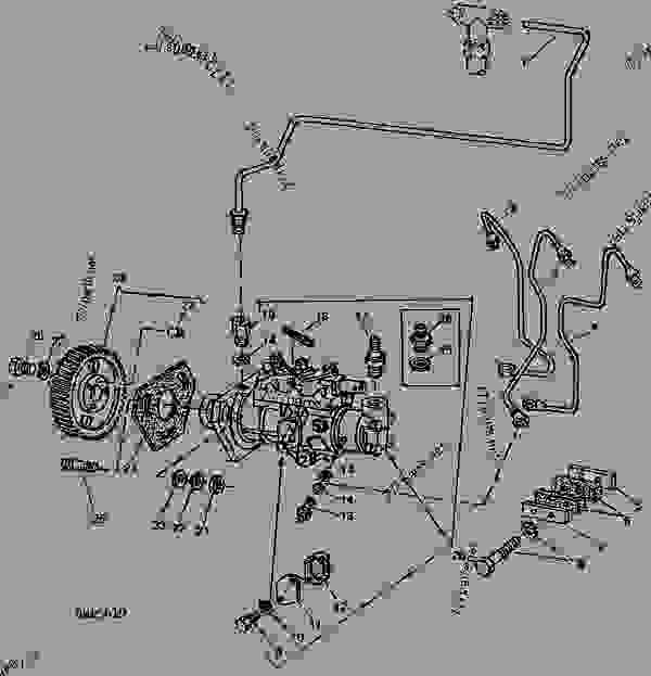 Wiring Diagram For John Deere 2755 Tractor John Deere B