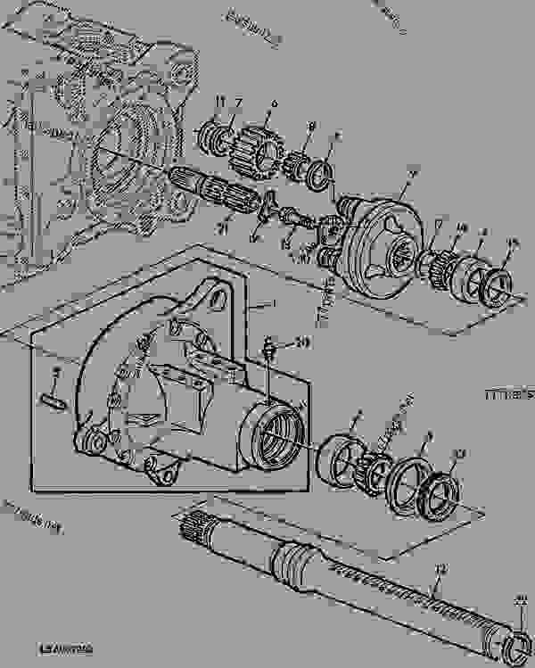 John Deere 955 Tractor Wiring Diagram John Deere 4040
