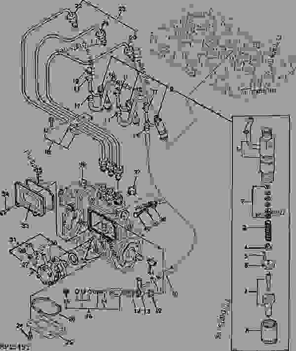 Wiring Diagram John Deere 855 Tractor John Deere 316
