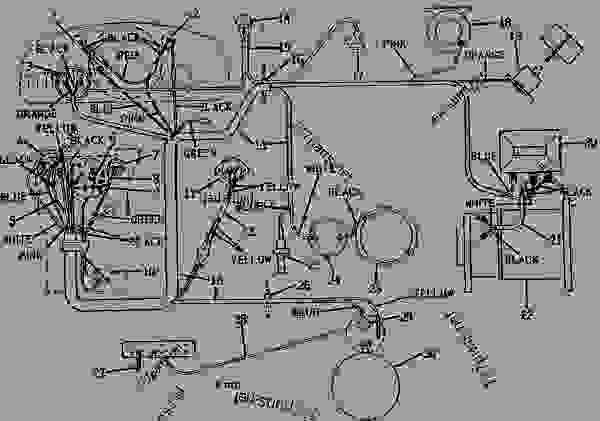GENERATOR, IGNITION AND STARTER WIRING (LP-GAS) [01H03