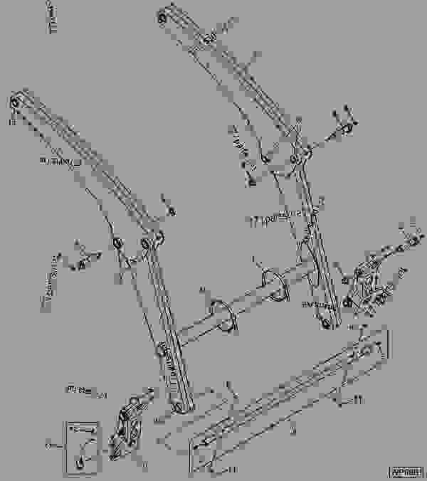 John Deere Cx Gator Wiring Diagram John Deere 155C Wiring