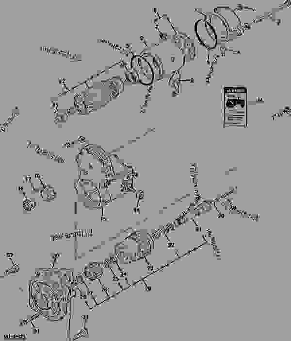 STARTER (870 1.2 KW) (ENGINE SERIAL NO. 6518- ) (TRACTOR