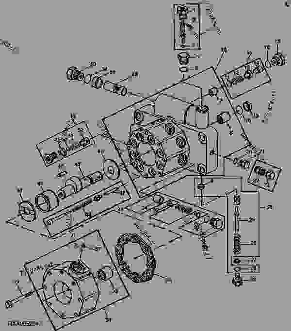 john deere 1020 hydraulic system diagram
