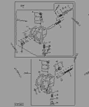 BRAKE VALVE  TRACTOR John Deere 5400  TRACTOR  5200