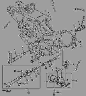 LVA16567 Load Control Shaft  lva16567  John Deere spare