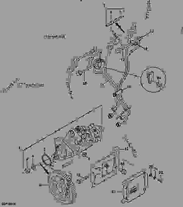 John Deere 6400 Pto Wiring Diagram For Tractor John Deere
