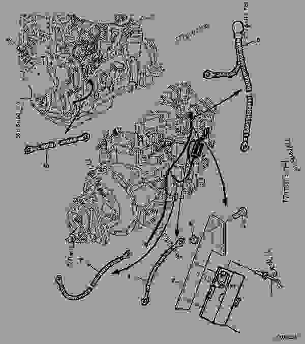 B Wiring Diagram John Deere Grader. John Deere 445 Wiring