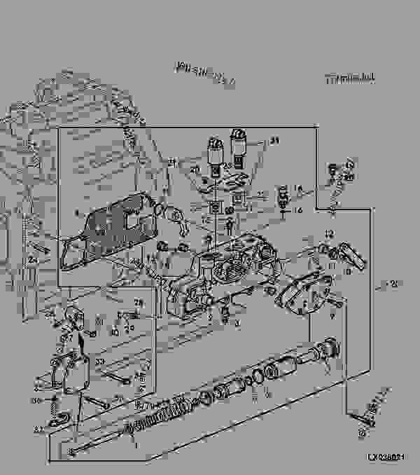 CONTROL BLOCK FOR PARKING LOCK (AUTOPOWR TRANSMISSION
