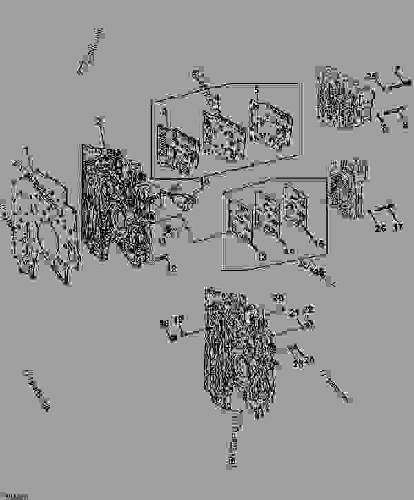 Transmission Intermediate Plate and Gaskets (POWRSHIFT