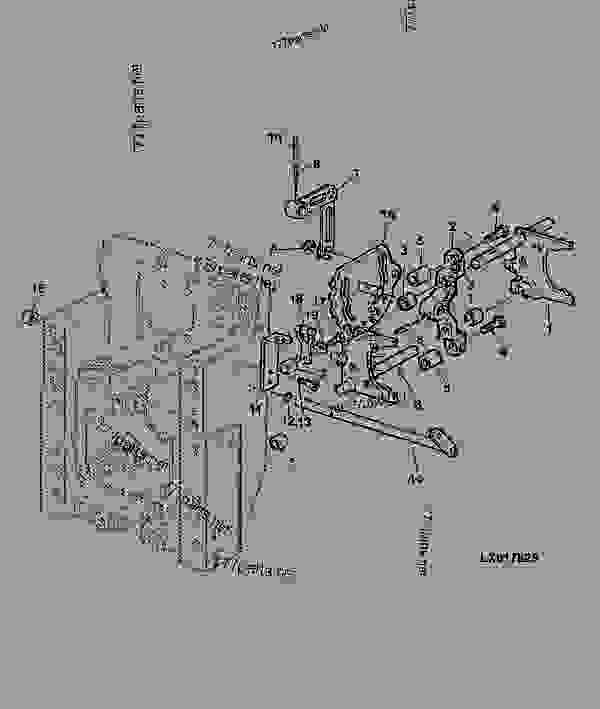 SHIFTING PARTS, REAR SHIFTABLE PTO 540-540E-1000 RPM