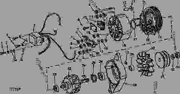ALTERNATOR AND VOLTAGE REGULATOR (MOTOROLA NO. A12NJD604