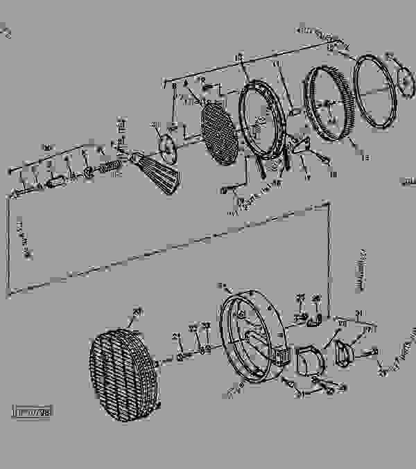 John Deere 4640 Wiring Diagram John Deere 4640 Tractor