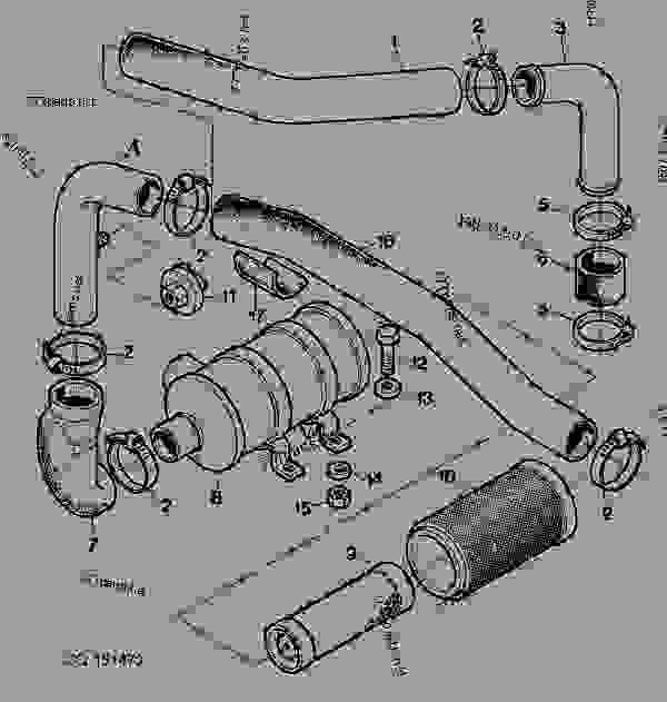 John Deere 265 Parts Diagram Air Filter. john deere 265