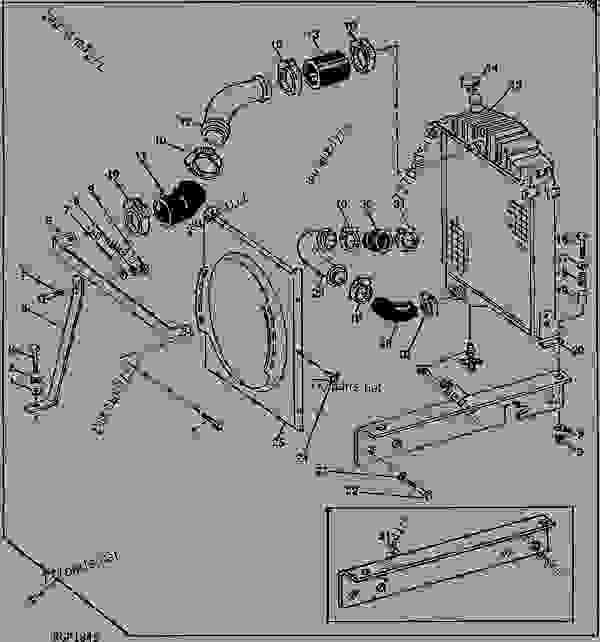 CODE 2701 RADIATOR AND FAN SHROUD (6619AF) [01G06