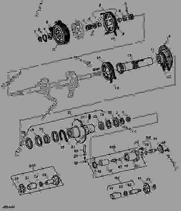 PRIMARY COUNTERSHAFT SHEAVES (DUAL-RANGE CYLINDER DRIVE
