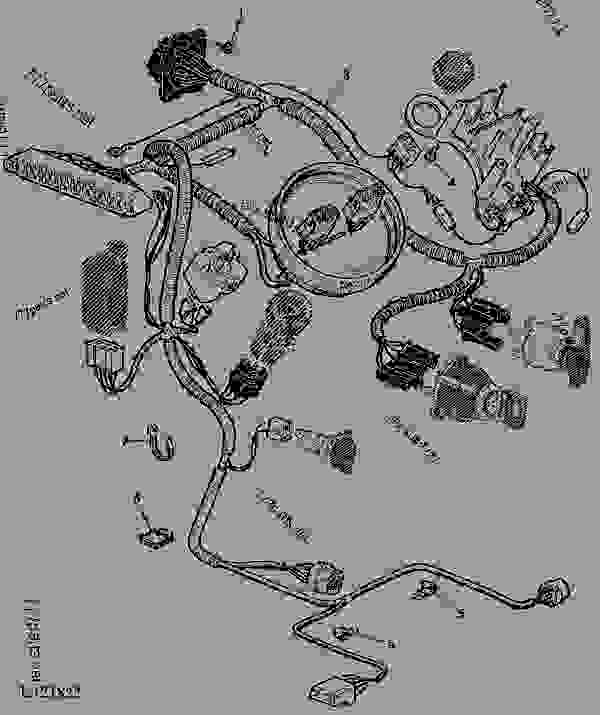 John Deere Z225 Ignition Switch Wiring Diagram